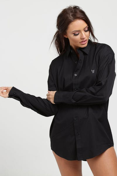 The Anti-Order Non Formal L/S Shirt Black