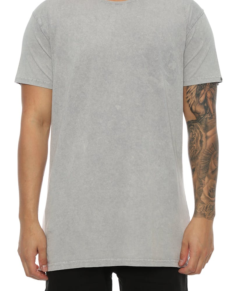 Silent Theory Acid Tall Tee Grey