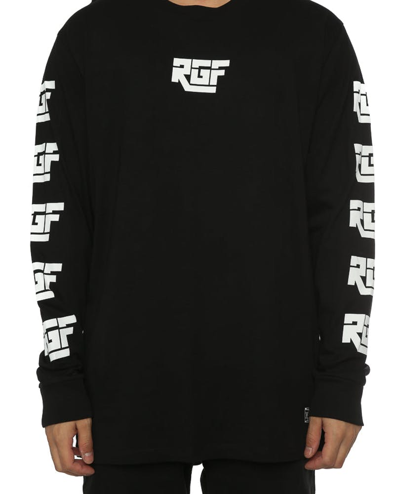 Rats Get Fat DHL LS Tee Black