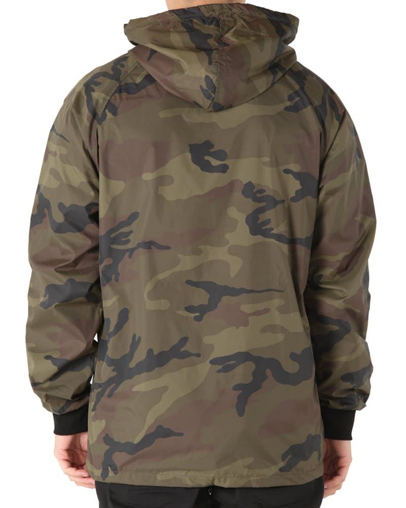 Goat Crew More Life Windbreaker Camo