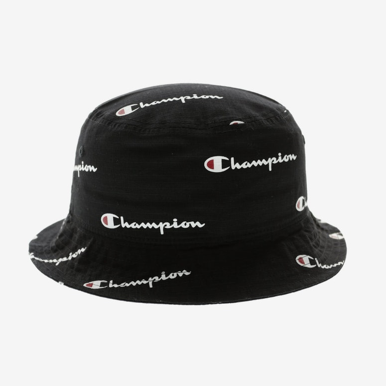 Champion All Over Bucket Hat Black