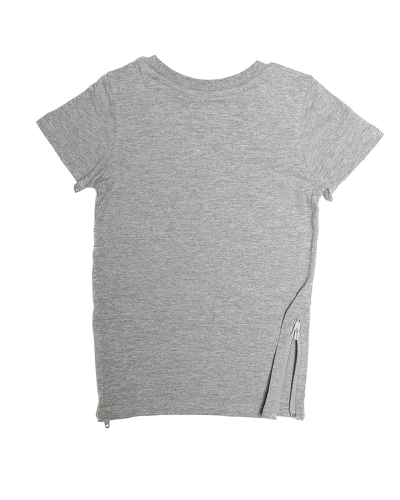 Lil Homme Capone No. 5 SS Tee Grey Heather