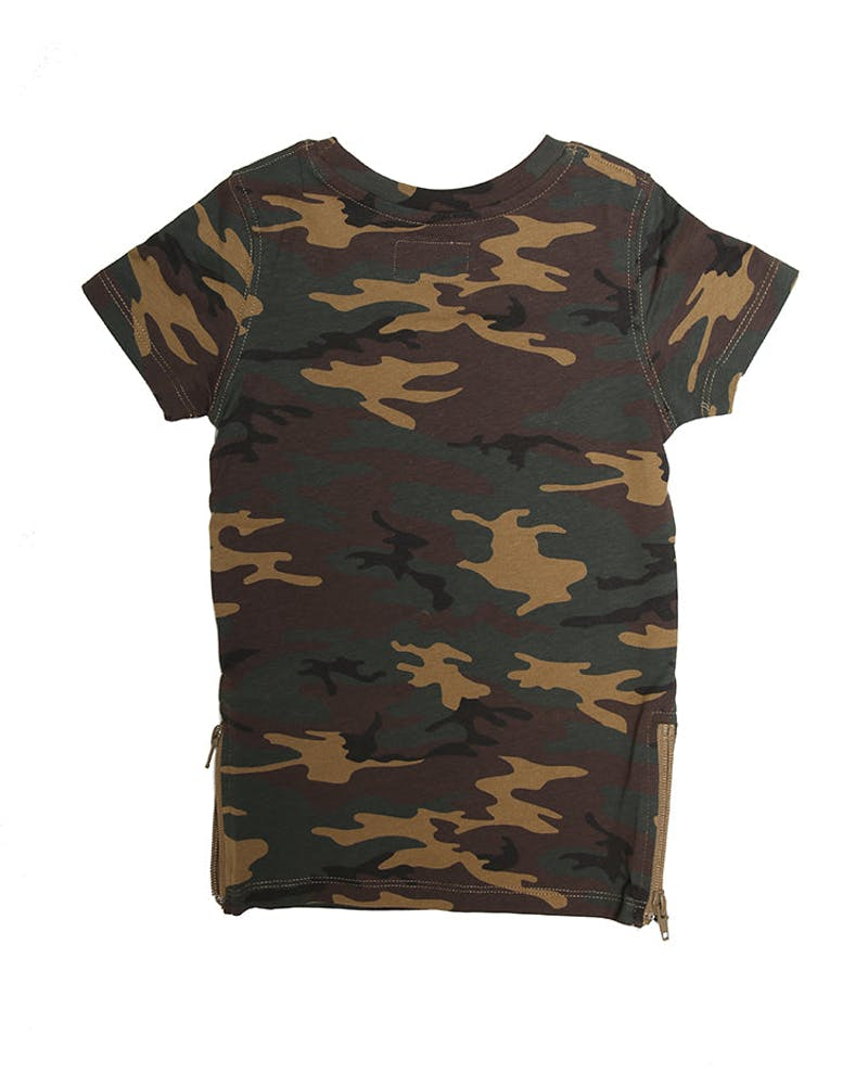 Lil Homme Marque Capone SS Tee Camo