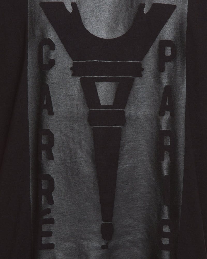 Carré Blueprinted Capone SS Tee Black