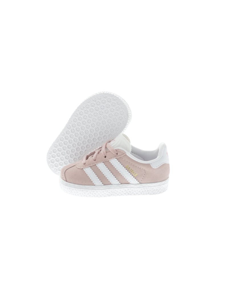 Adidas Originals Gazelle I Pink/White