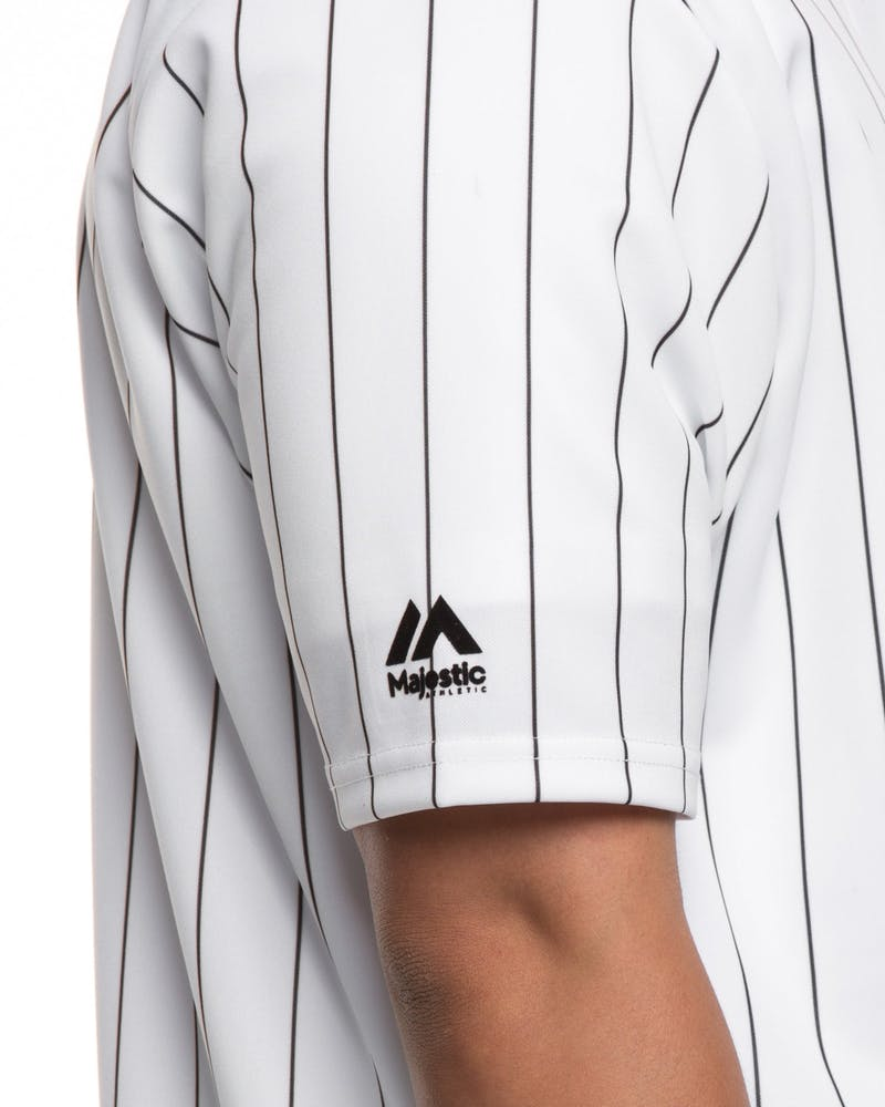 Majestic Athletic X Culture Kings Pinstripe Jersey White/Black
