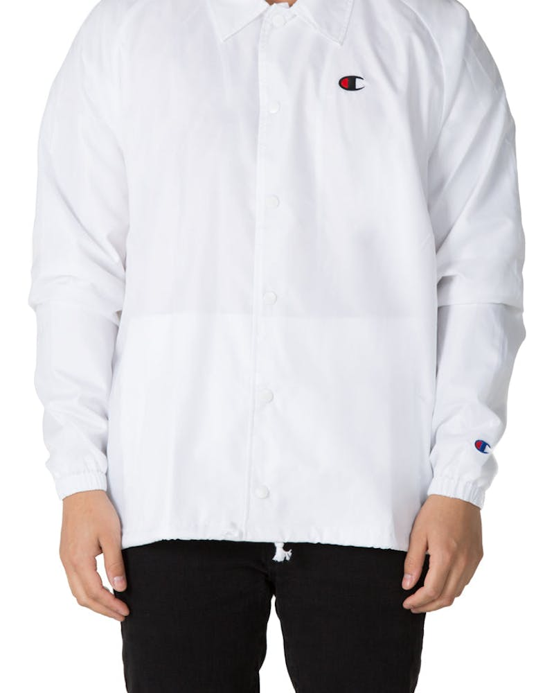 Champion Coaches Jacket West Breaker Edition White