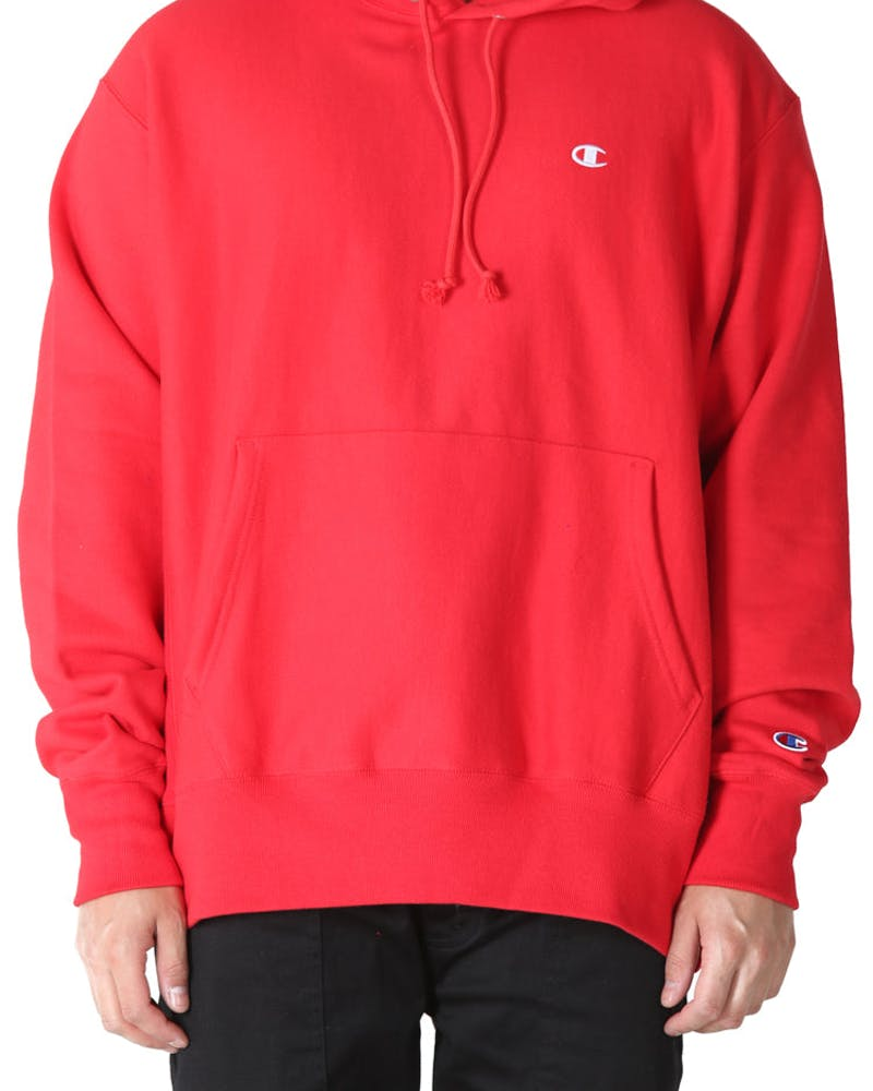 Champion Reverse Weave Hoodie Red