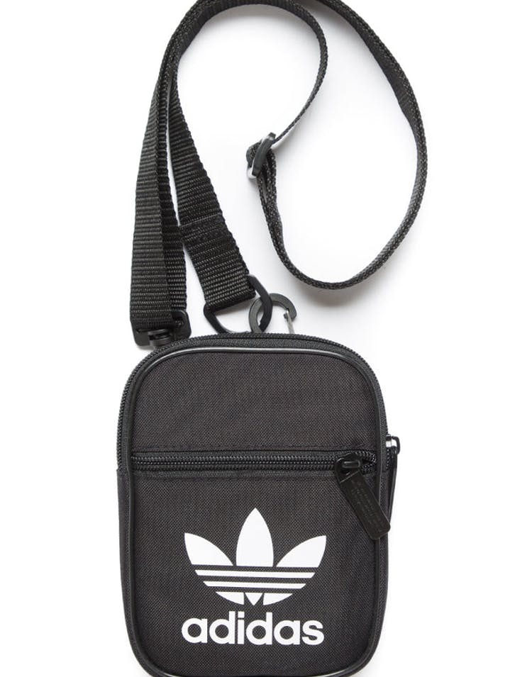 351ca52dd2 Adidas Trefoil Festival Bag Black/White