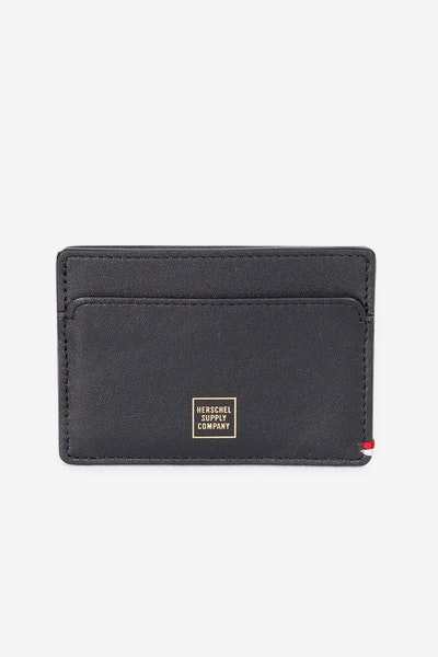 Herschel Supply Co Slip Napa Wallet Black/Gold