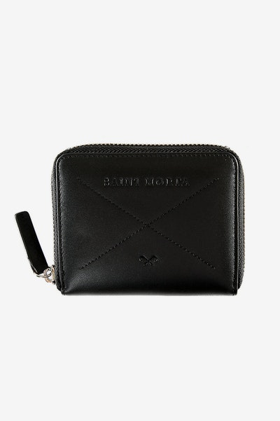 Saint Morta Boss Man Leather Wallet Black