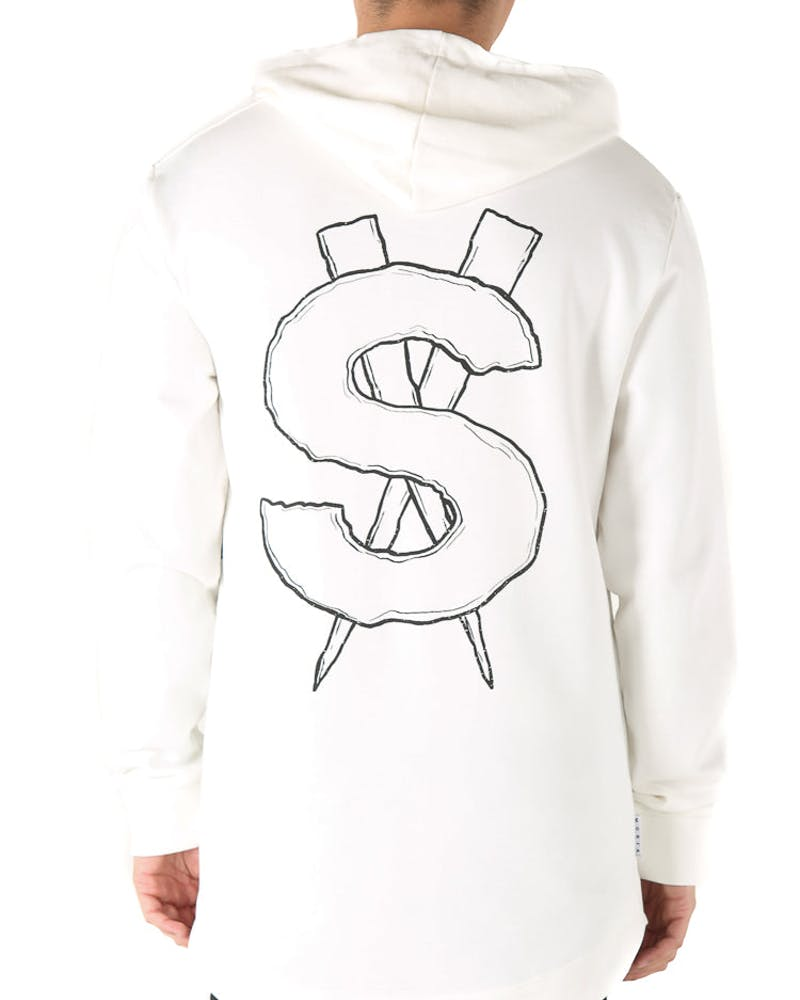 Saint Morta Riche$ Coven Hood Off White