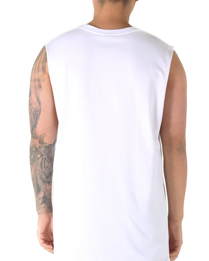 Goat Crew Fook You Muscle Tee White
