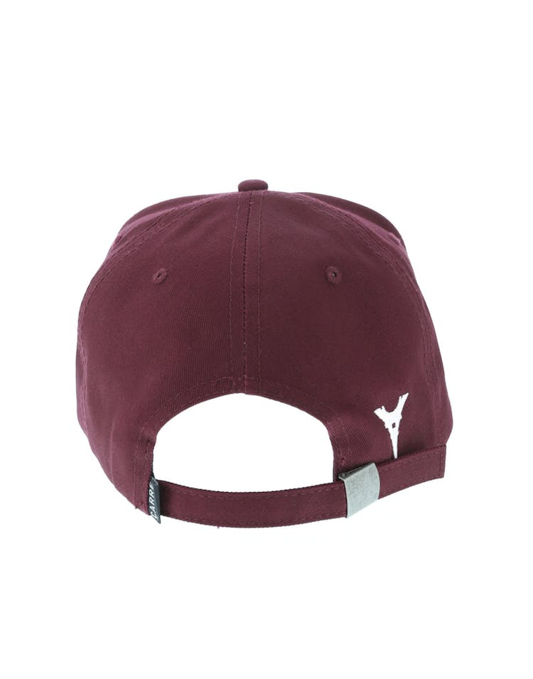 Carré Iron Lady Strapback Maroon
