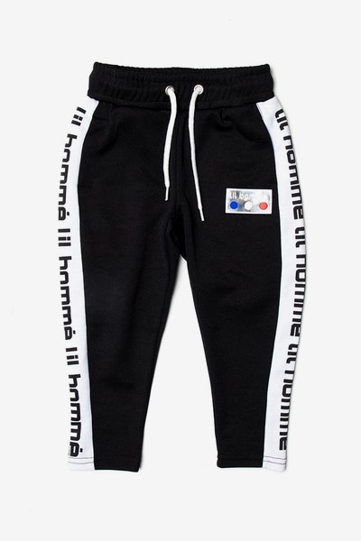 Lil Homme Patrice Track Pant Black