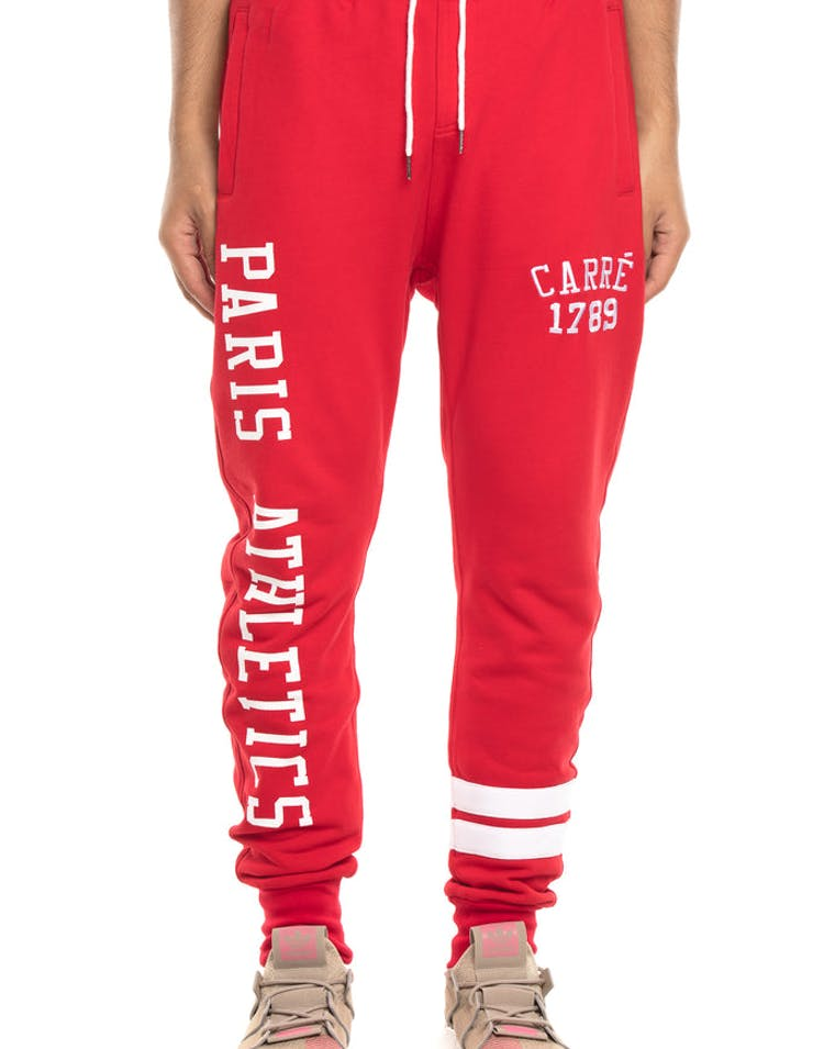 Carré Paris Athletics Trackpants Crimson