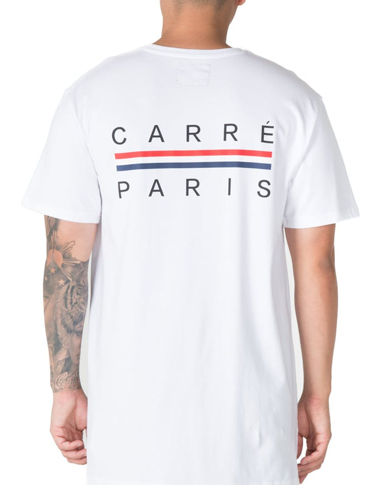Carré Bannerol Divise Tee White