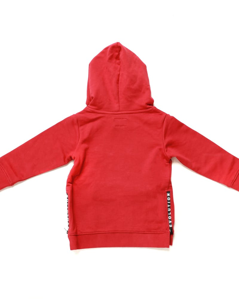 Lil Homme Tactique Hood Crimson
