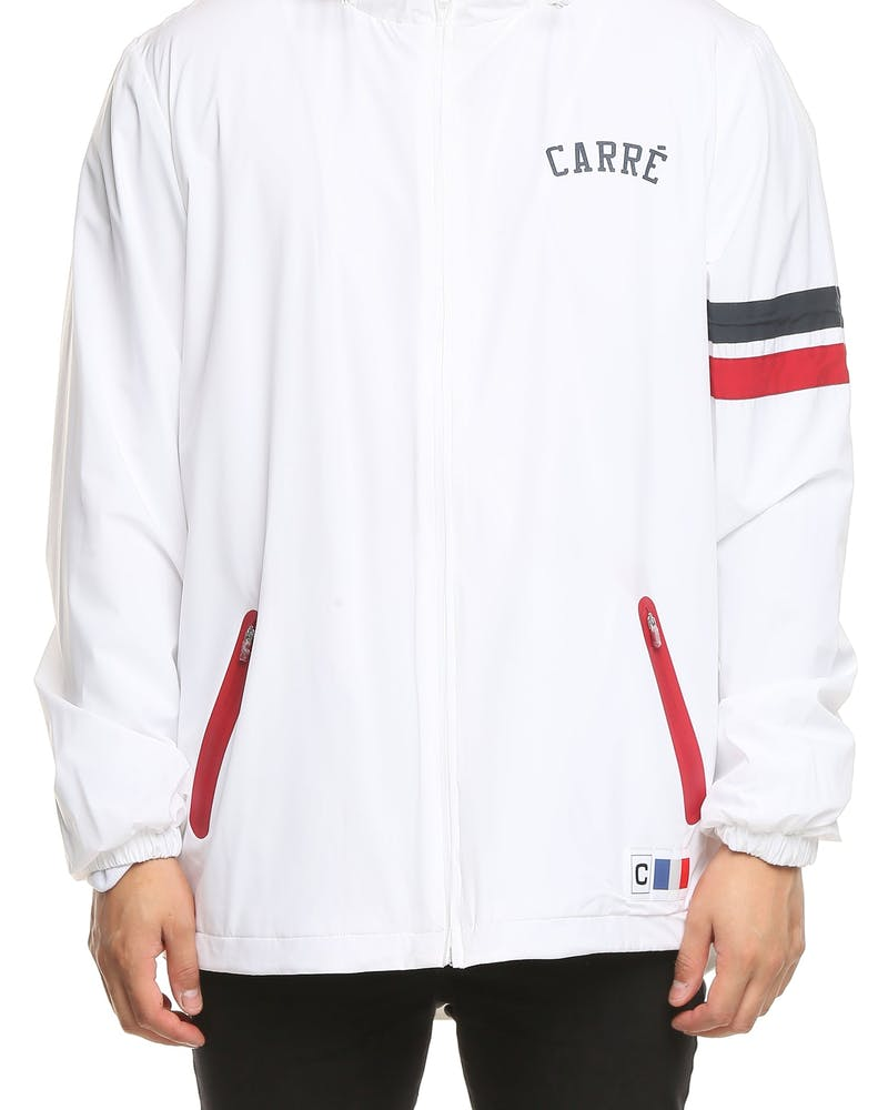 Carré Paris Athletics Jacket White/Blue/Red