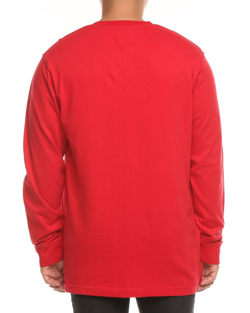 Loiter NYC Freedom LS Tee Red