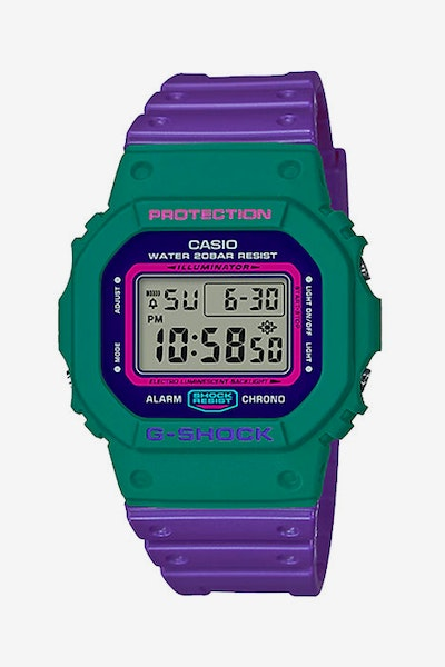 G-Shock DW5600TB-6D Purple/Aqua