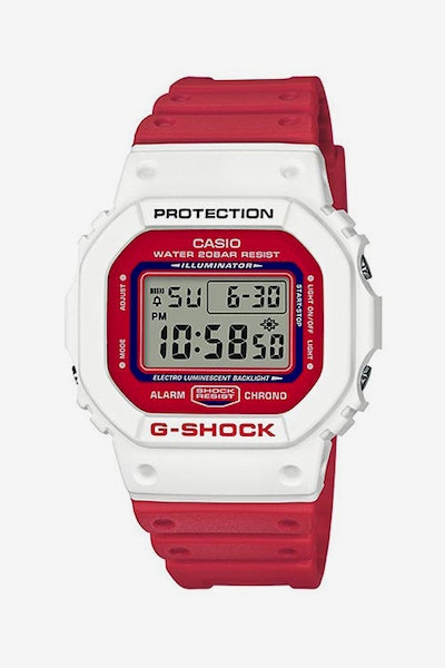 G-Shock DW5600TB-4A Red/White