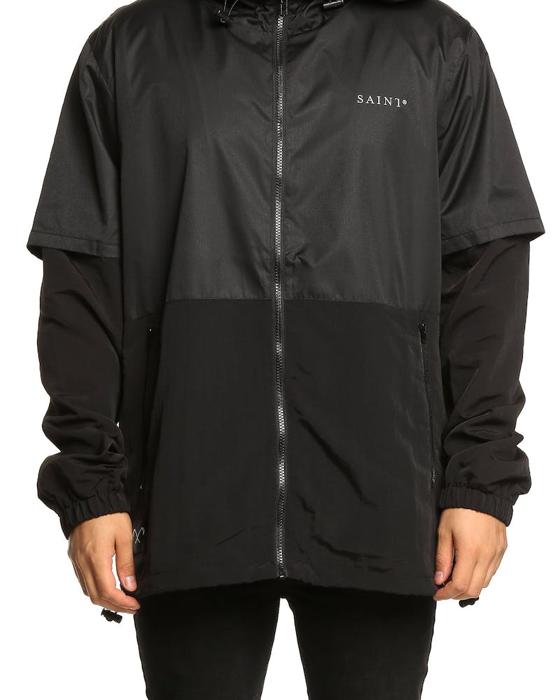 Saint Morta Classic Wind Breaker Black