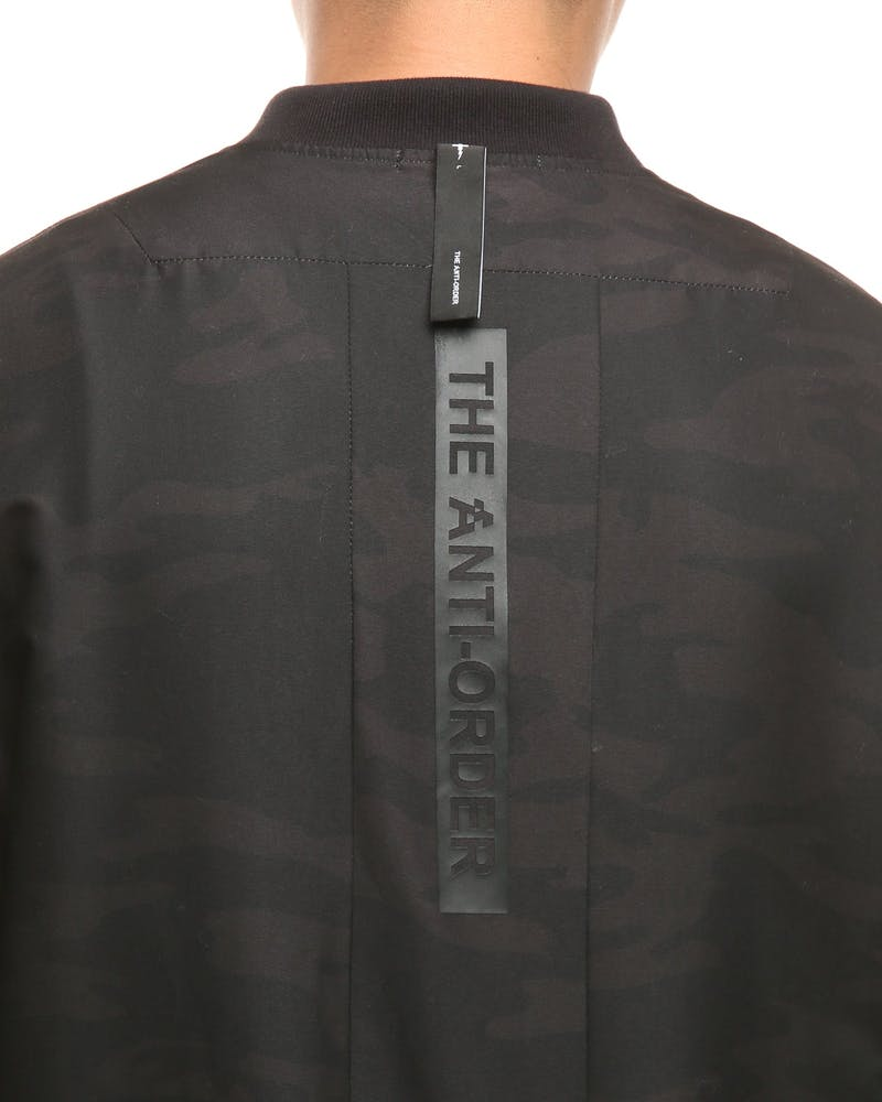The Anti-Order Black Ops Non-Cargo Jacket Black Camo