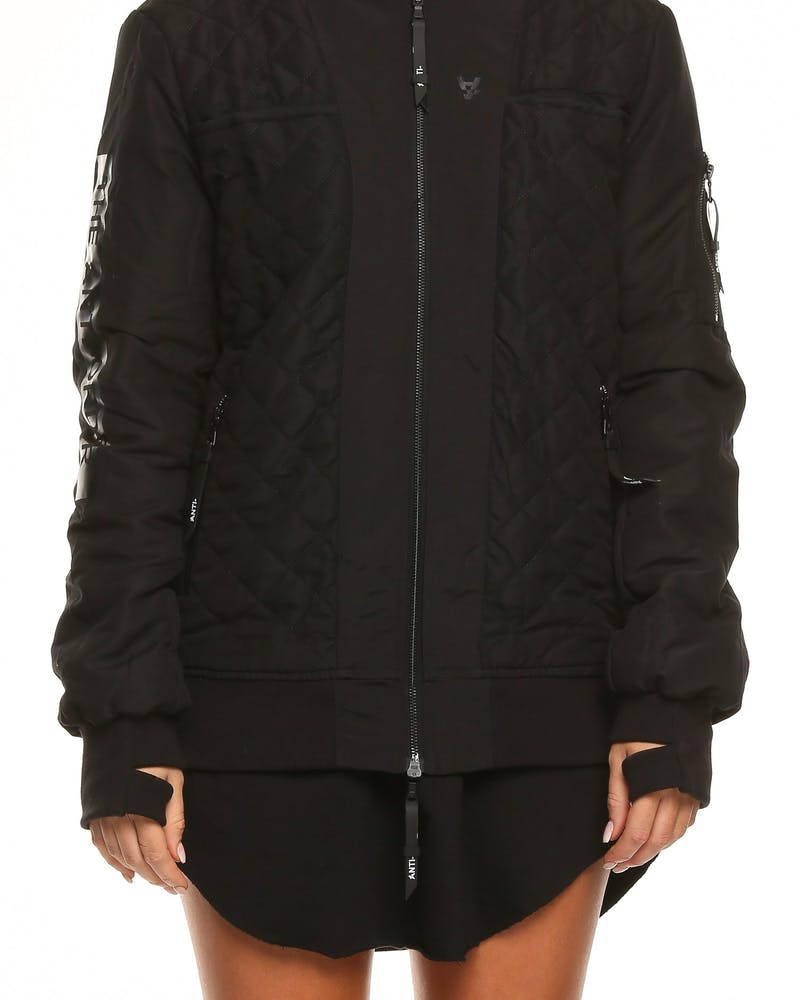 The Anti-Order Seezy Non-Flight Jacket Black