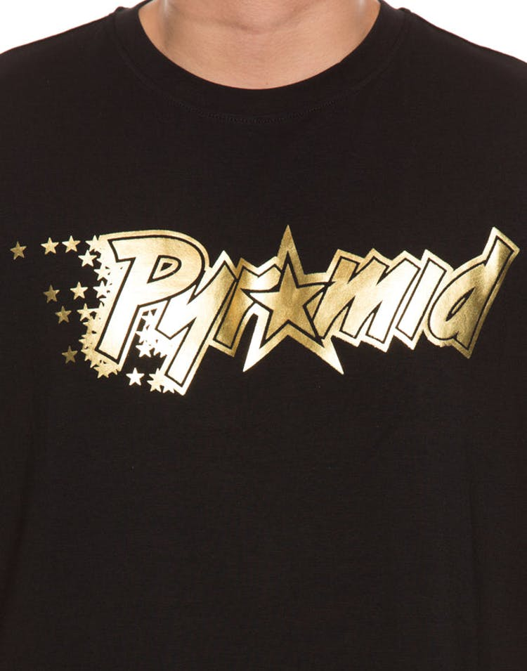 Black Pyramid Magic Pyramid Tee Black Gold