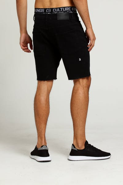 Saint Morta Crusher Short Washed Black