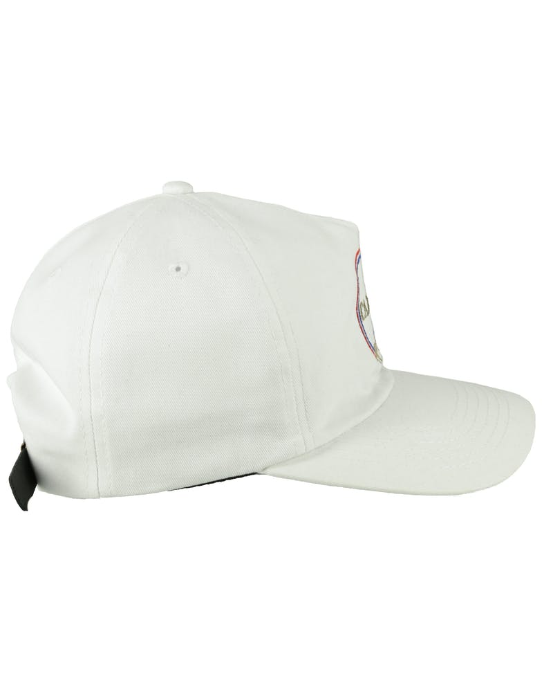 CARRÉ ROYALE STRAPBACK WHITE