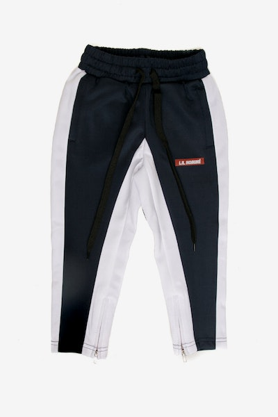Lil Homme Frontier Trackpant Navy/White