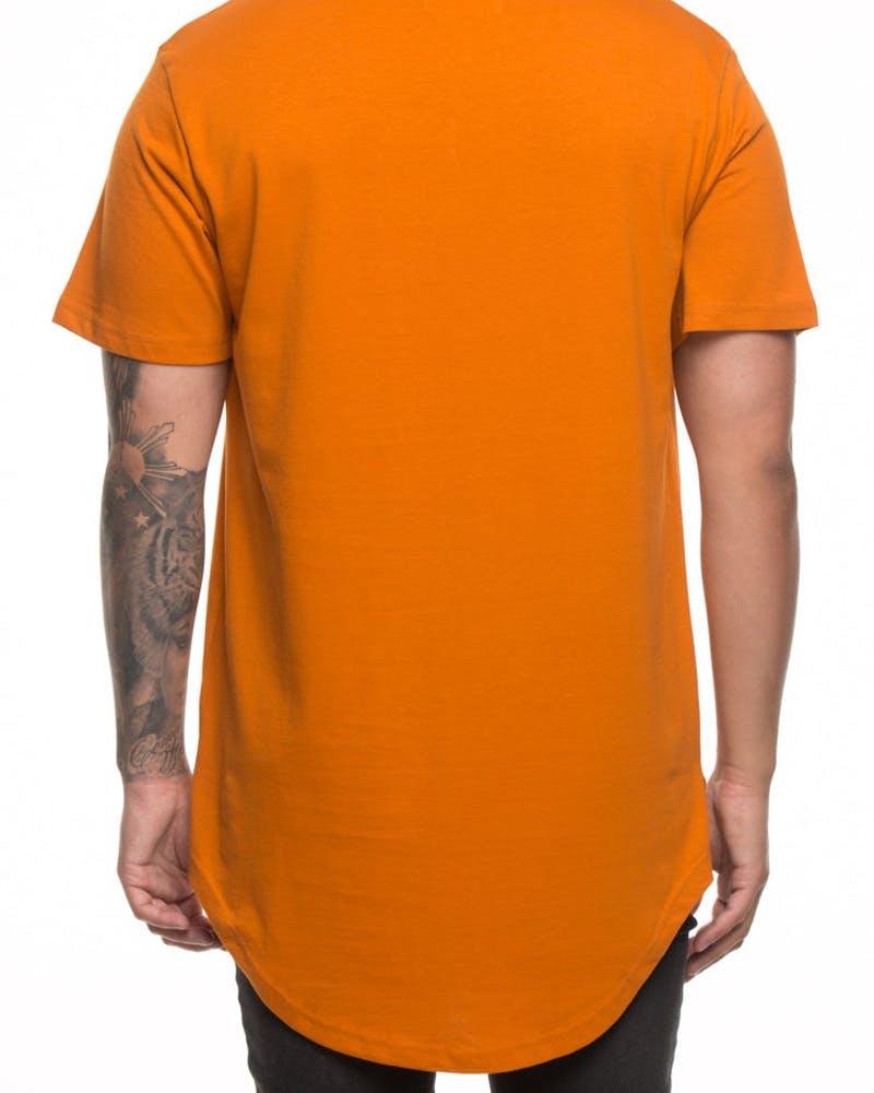 Saint Morta Dissapate El Duplo Tee Mud Orange