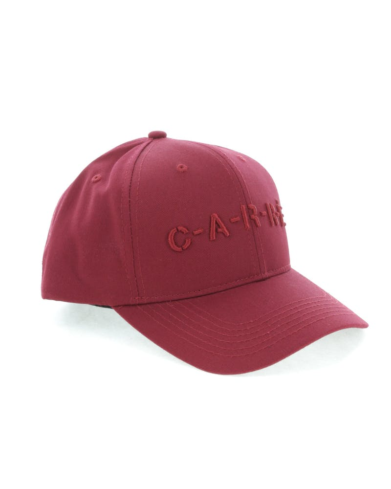 Carré Revolution Snapback Crimson
