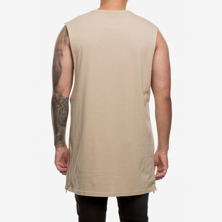 Carré CPF Capone Muscle Tee Stone