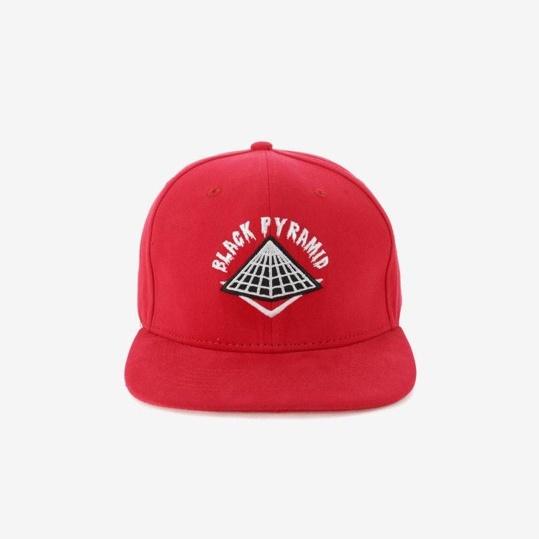 Black Pyramid Snapback Red – Culture Kings US 24772132950
