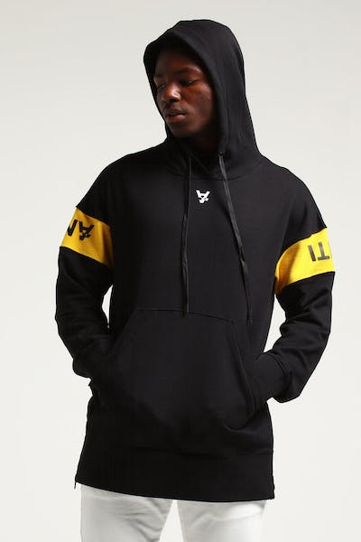 The Anti-Order Non Jabbar Human Hoody Black/Yellow