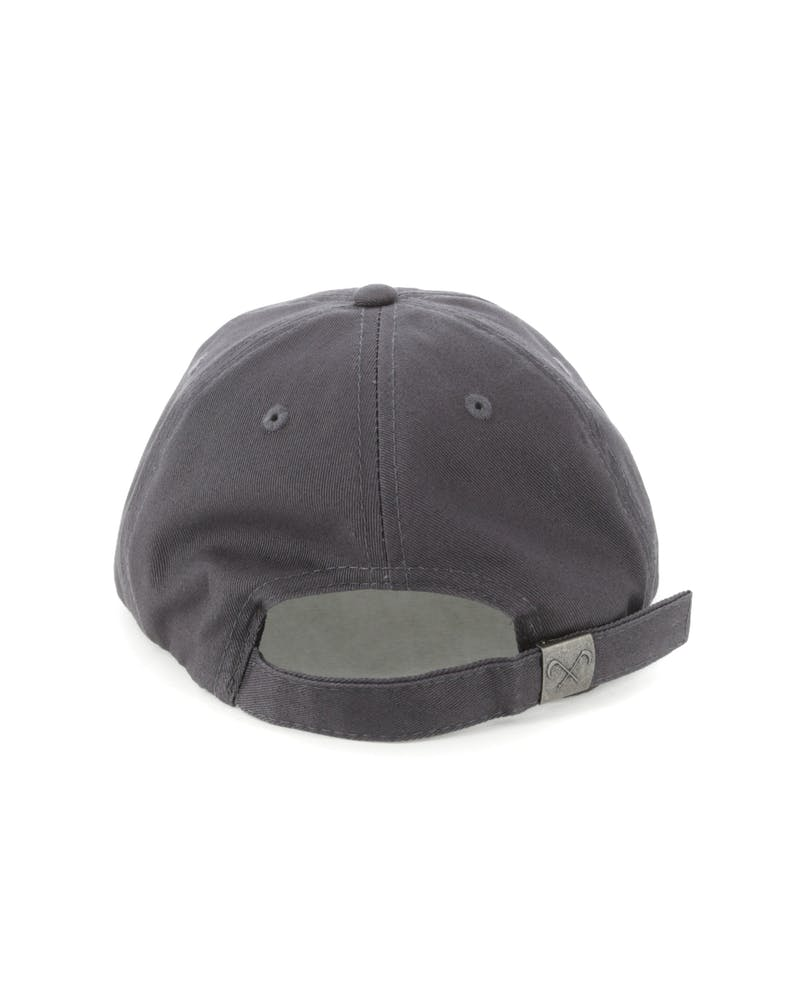 Saint Morta Crews Strapback Charcoal