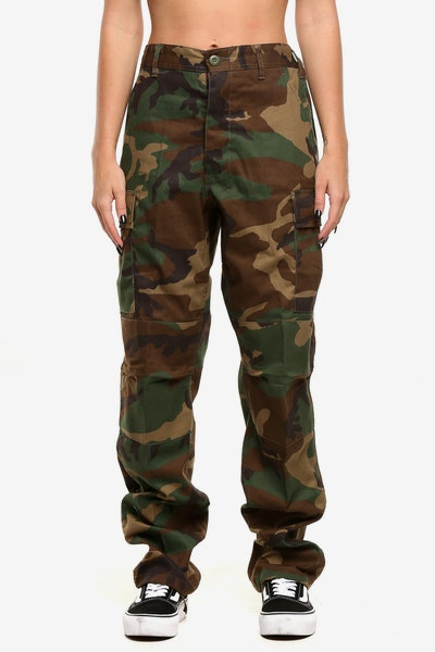 ROTHCO WOMEN'S TACTICAL BDU PANT WOODLAND CAMO