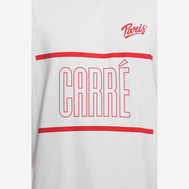 Carré Varsity A Capone SS Tee White