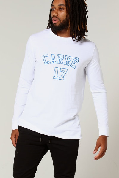 Carré Pitbulls De Base LS Tee White