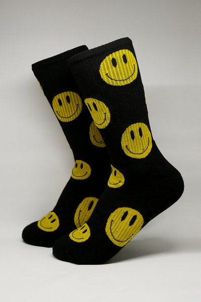 Goat Crew Feel Good Sock Black