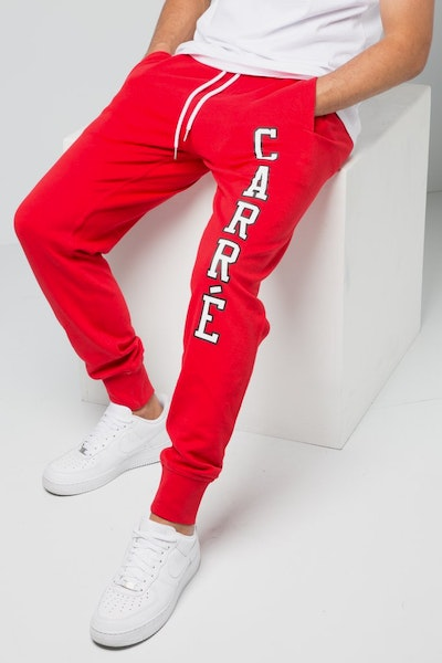 Carré Paris Pitbulls De Base Sweat Pants Red