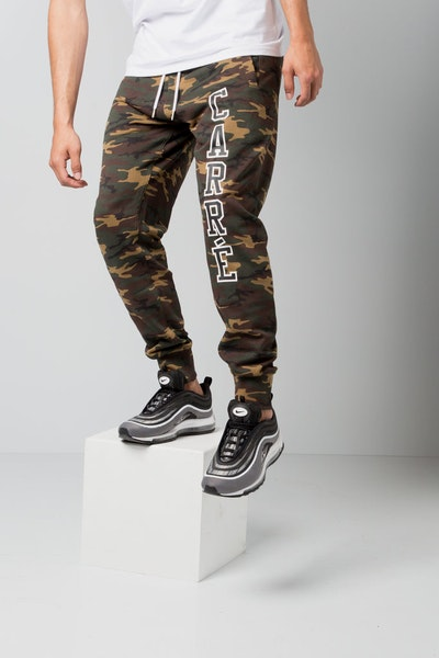 Carré Paris Pitbulls De Base Sweat Pants Camo