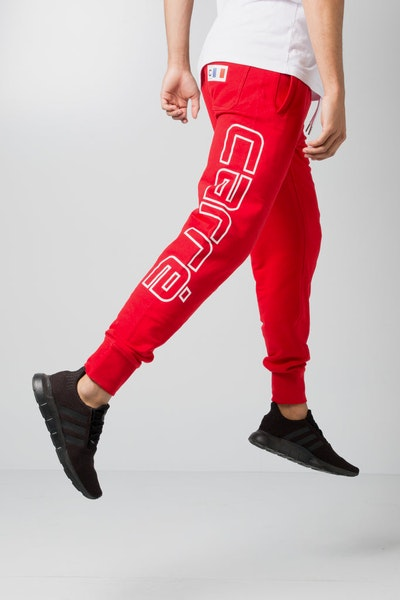 Carré Patrice Sweat Pants Red
