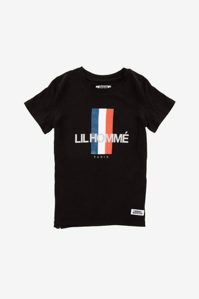 Lil Homme Bearer Capone SS Tee Black
