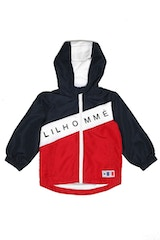 Lil Homme Lafayette Windbreaker Navy/White/Red