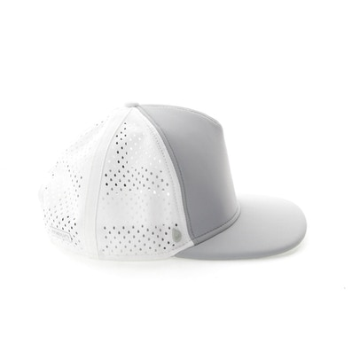 brand new 3b396 89712 Custom moulded rubberized snapback and under visor seal. - 3-D Coated Metal  TECH logo tack. - Melin brand damask woven taping.