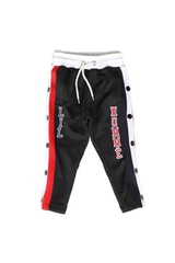 LIL HOMME PARIS PITBULLS SNAP PANT BLACK